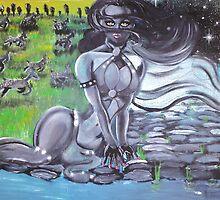 Monster Painting Digital Art and Fashion by David Berbia by David Berbia