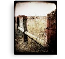 When Time Fades Canvas Print