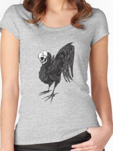 Rooster Women's Fitted Scoop T-Shirt