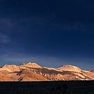 Moon Over Mono–Inyo Craters. by Alex Preiss