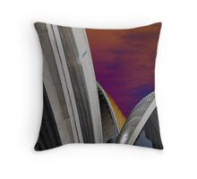 All Together (colour) Throw Pillow