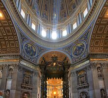 St Peter Basilica by Christophe Testi
