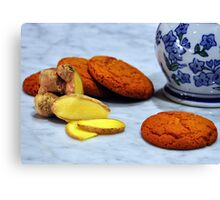 ginger biscuits Canvas Print