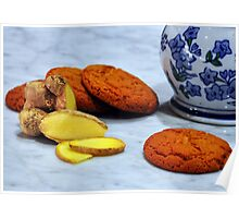 ginger biscuits Poster