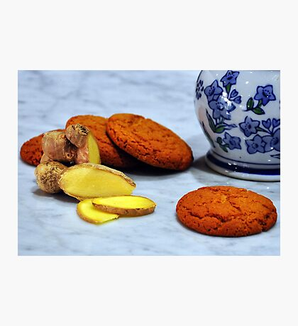 ginger biscuits Photographic Print
