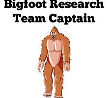 Bigfoot Research Team Captain by GiftIdea