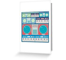 music composition Greeting Card
