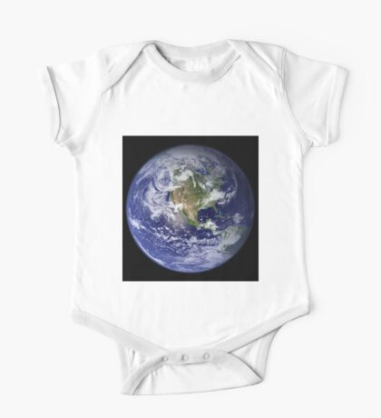 the earth seen from space One Piece - Short Sleeve