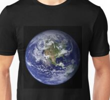 the earth seen from space Unisex T-Shirt