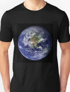 the earth seen from space T-Shirt