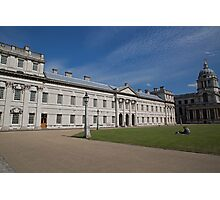 Greenwich Naval College in the the Royal Borough of Greenwich Photographic Print