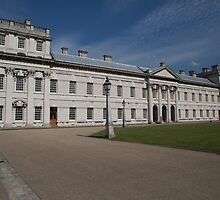 Greenwich Naval College in the the Royal Borough of Greenwich by Keith Larby