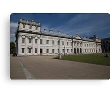 Greenwich Naval College in the the Royal Borough of Greenwich Canvas Print