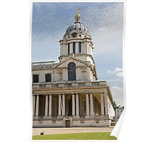 St Peter & St Pauls church in Greenwich Naval College Poster