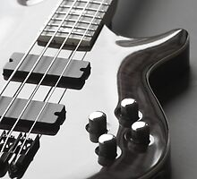Bass Guitar by Great Divide  Photography