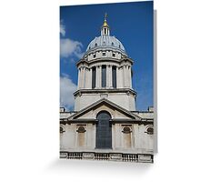 Royal Naval college in Greenwich Greeting Card