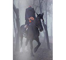 Headless Horseman Photographic Print
