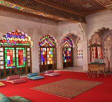 At Moti Mahal, Jodhpur by Indrani Ghose
