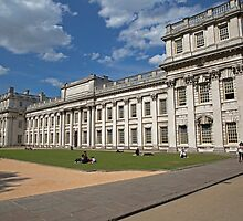 Royal Naval College in Greenwich by Keith Larby