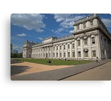 Royal Naval College in Greenwich Canvas Print