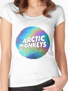 Urban Jungle: Arctic Monkeys Women's Fitted Scoop T-Shirt