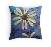 Maple Seed Flower Throw Pillow