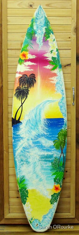 Dad's Surfboard by Sarah ORourke