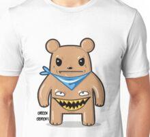 greedy bear white Unisex T-Shirt