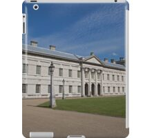 Blue Skies over Greenwich Naval College in the the Royal Borough of Greenwich iPad Case/Skin