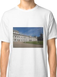 Greenwich Naval College in the the Royal Borough of Greenwich Classic T-Shirt