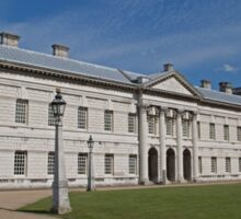 Greenwich Naval College in the the Royal Borough of Greenwich Sticker