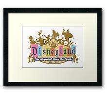 Disneyland 2015 Framed Print