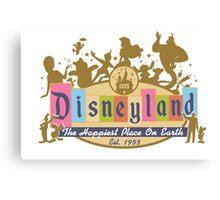 Disneyland 2015 Canvas Print