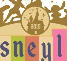 Disneyland 2015 Sticker