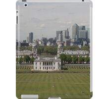 A view over London from Greenwich park iPad Case/Skin