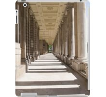 Columns in the Royal Naval college in Greenwich iPad Case/Skin