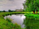 Newark Priory and a Tranquil Stream - HDR3 by Colin  Williams Photography