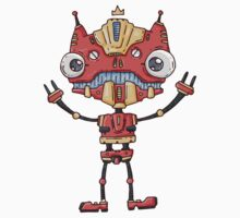 Robot King Kids Clothes