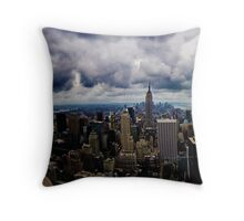 sky is my limit Throw Pillow