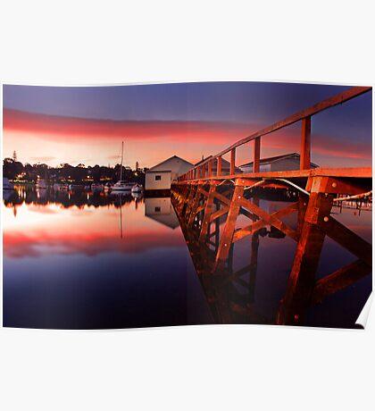 Mosman Bay Boatshed  Poster