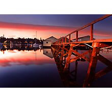 Mosman Bay Boatshed  Photographic Print