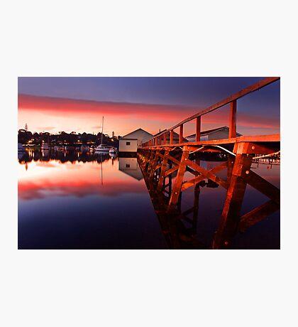 Mosman Bay Boatshed  Photographic Print