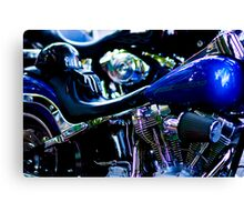 bikers Canvas Print
