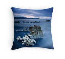 As Dawn Begins Throw Pillow