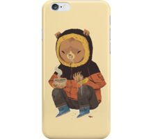 noodle bear iPhone Case/Skin