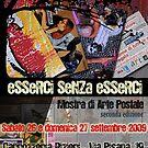 eSSeRCi SeNZa eSSeRCi (seconda edizione) MoSTRa Di aRTe PoSTaLe  by Enzo Correnti