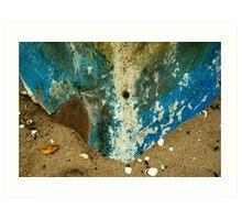 Shabby Ship Wreck Art Print