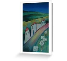 Heathcote Street III Greeting Card