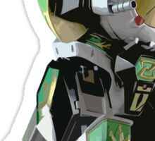Mighty Morphin Power Rangers Dragonzord Sticker