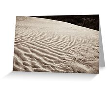 wilsons promontory sands 3 Greeting Card